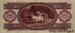 100 Forint HONGRIE  1957 P.171a TTB