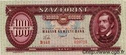 100 Forint HONGRIE  1957 P.171a pr.NEUF