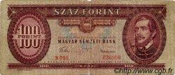 100 Forint HONGRIE  1960 P.171b B