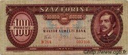 100 Forint HONGRIE  1960 P.171b TB