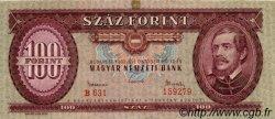 100 Forint HONGRIE  1962 P.171c TTB+