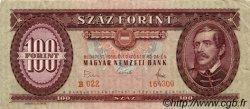 100 Forint HONGRIE  1968 P.171d TTB+