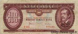 100 Forint HONGRIE  1980 P.171f TB