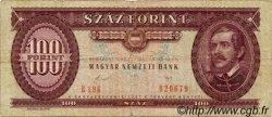 100 Forint HONGRIE  1989 P.171h B+