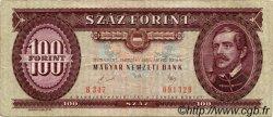 100 Forint HONGRIE  1989 P.171h TB