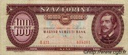 100 Forint HONGRIE  1989 P.171h TTB
