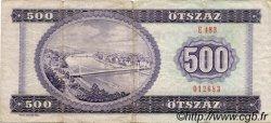 500 Forint HONGRIE  1980 P.172c pr.TB