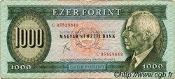 1000 Forint HONGRIE  1983 P.173b TB