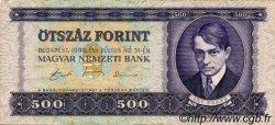 500 Forint HONGRIE  1990 P.175a TB