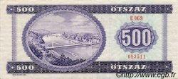 500 Forint HONGRIE  1990 P.175a SUP