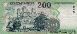 200 Forint HONGRIE  1998 P.178 TTB
