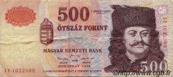 500 Forint HONGRIE  1998 P.179 pr.TTB