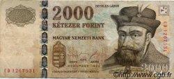 2000 Forint HONGRIE  1998 P.181 TB