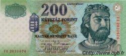 200 Forint HONGRIE  2001 P.187 NEUF