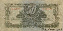 50 Pengö HONGRIE  1944 P.M7 TB+