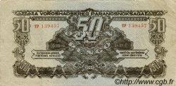 50 Pengö HONGRIE  1944 P.M7 TTB