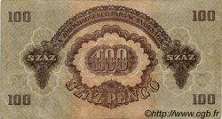 100 Pengö HONGRIE  1944 P.M8 TTB