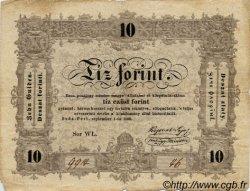 10 Forint HONGRIE  1848 P.S117 B+
