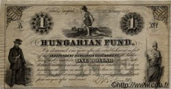 1 Dollar HONGRIE  1852 PS.136a SUP