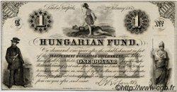1 Dollar HONGRIE  1852 PS.136r NEUF