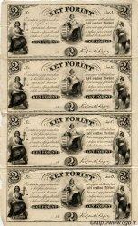 2 Forint planche HONGRIE  1852 P.S142r1 SUP+