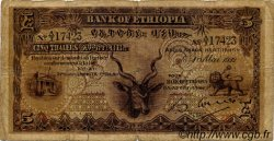 5 Thalers ÉTHIOPIE  1932 P.07 B