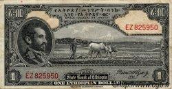 1 Dollar ÉTHIOPIE  1945 P.12c pr.TTB