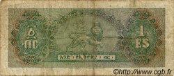 1 Dollar ÉTHIOPIE  1961 P.18a pr.TB