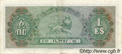 1 Dollar ÉTHIOPIE  1961 P.18a TTB+