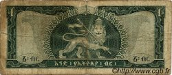 1 Dollar ÉTHIOPIE  1966 P.25a B
