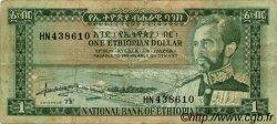 1 Dollar ÉTHIOPIE  1966 P.25a TB