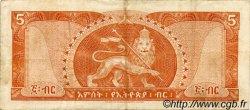5 Dollars ÉTHIOPIE  1966 P.26a TTB
