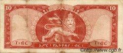 10 Dollars ÉTHIOPIE  1966 P.27a TB