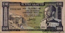 100 Dollars ÉTHIOPIE  1966 P.29a TTB