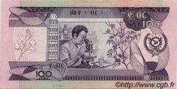100 Birr ÉTHIOPIE  1976 P.34 SUP
