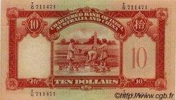 10 Dollars HONG KONG  1941 P.055c SUP+