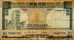 10 Dollars HONG KONG  1977 P.074c B
