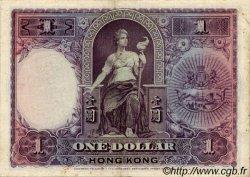 1 Dollar HONG KONG  1935 P.172c TTB