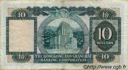 10 Dollars HONG KONG  1978 P.182h TB+
