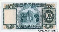 10 Dollars HONG KONG  1979 P.182h SPL