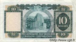 10 Dollars HONG KONG  1979 P.182h TTB+