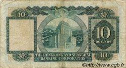 10 Dollars HONG KONG  1980 P.182i TB