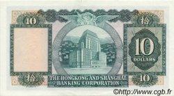 10 Dollars HONG KONG  1980 P.182i SUP+