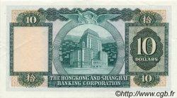 10 Dollars HONG KONG  1982 P.182j SUP