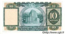 10 Dollars HONG KONG  1983 P.182j NEUF