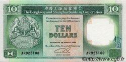 10 Dollars HONG KONG  1989 P.191c NEUF