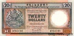 20 Dollars HONG KONG  1990 P.197a NEUF