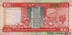 100 Dollars HONG KONG  1994 P.203a TTB
