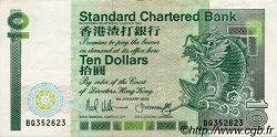 10 Dollars HONG KONG  1988 P.278b pr.SUP