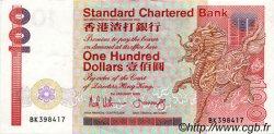 100 Dollars HONG KONG  1989 P.281b TTB+